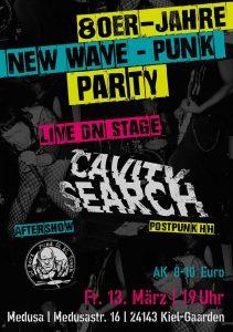 80er-Jahre New Wave - Punk Party