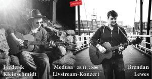 B. Lewes + F. Kleinschmidt live at Medusa