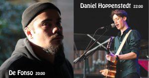 De Fonso + Daniel Hoppenstedt live@Medusa